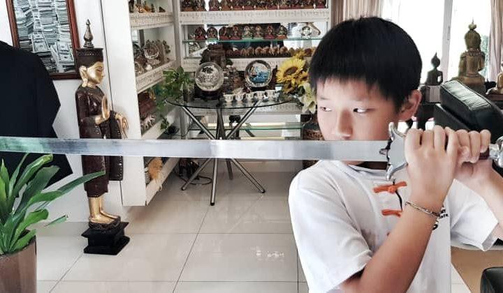 Wushu Nurtures Confidence