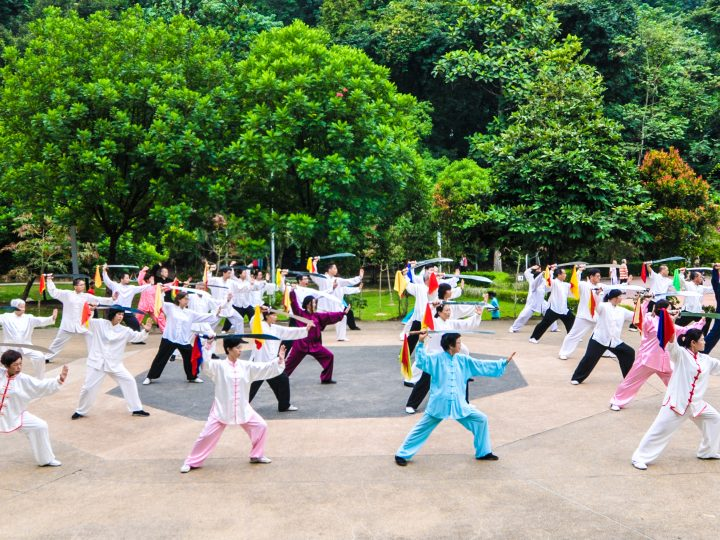 Tai Chi Boosts the Immune System